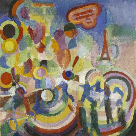DELAUNAY, Robert / Hommage à Blériot / 1914