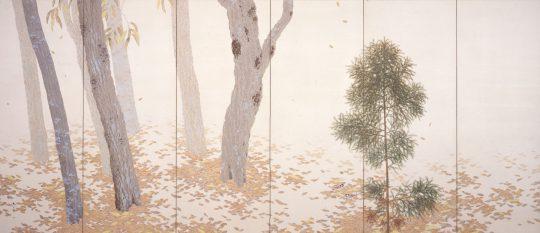 HISHIDA, Shunso / Fallen Leaves / 1909