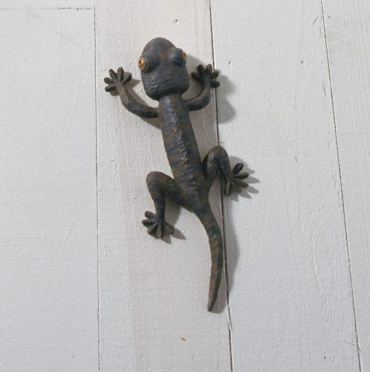 《Animal 2009‐04B》 2009  Bronze, paint, oil