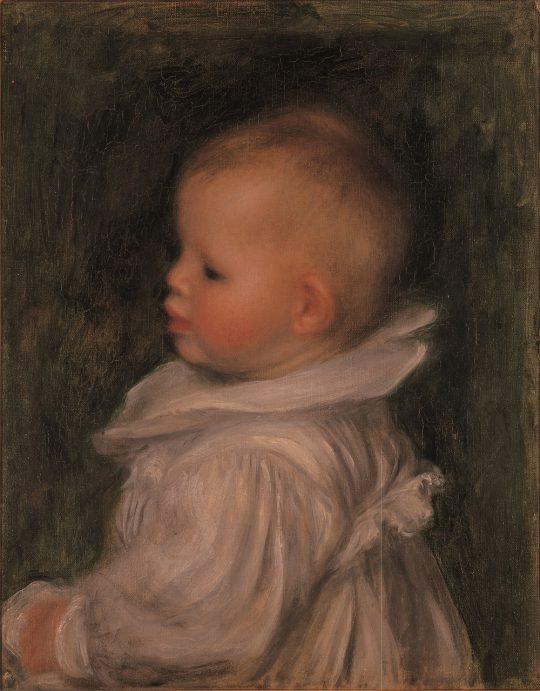 ピエール・オーギュスト・ルノワール 《クロード・ルノワールの肖像》 1902年