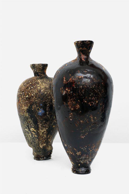 マルチン・ルサック 《Perishable Vases》