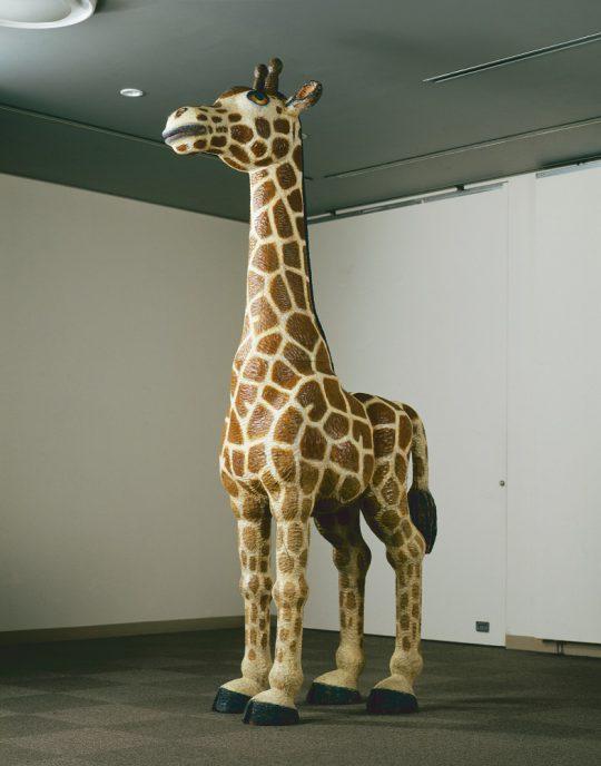 《Animal 2008‐02 》 2008年 樟、油彩