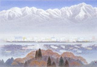 大野俊明《白銀の峰》2004年